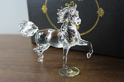 Breyer Fiery Arabian Crystal Horse Passion Rare And Hard To Find Mib