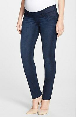 NWT DL1961 Maternity Nicky in Wooster Cigarette Slim Leg Stretch Jeans 28 x 32