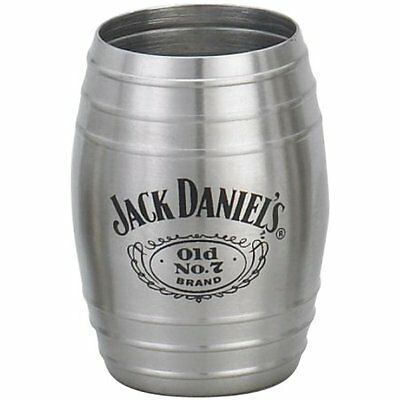Jack Daniels Medium Barrel Shot Glass -Free Ship!