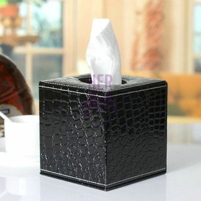 PU Leather Tissue Box Toilet Bathroom Paper Holder Home Office Decorate Hot sale