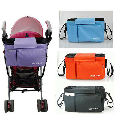 New Stroller Baby Car Hanging Basket Bag Storage Waterproof Women Shoulder Bags