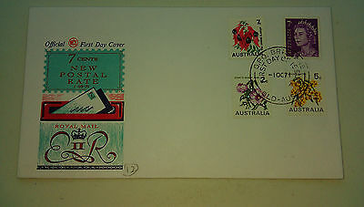 AUSTRALIA - FIRST DAY COVER - 1st October 1971