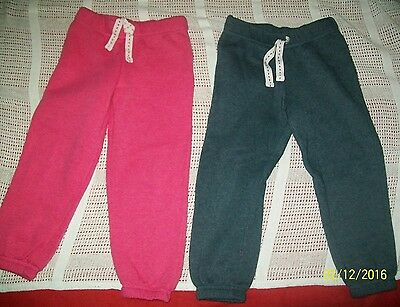 Twin girls clothes bundle joggers/ trousers size 4-5 years