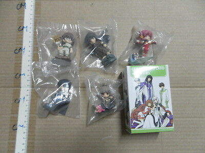 Clamp in 3-D Land vol 2 trading figure x5 only 1 box