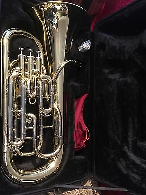 Christmas Special JP 274 Mk2 4V compensating euphonium In Silver