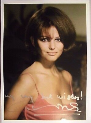 "Claudia Cardinale orig. signiert  "" SEXY/JUNG  ""  Motiv 13x18   ""7"""