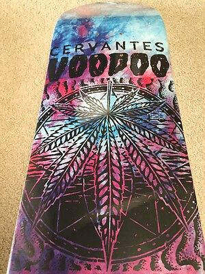 Zero Skateboard Deck Tony Cervantes Voodoo Child Pro NOS Rare