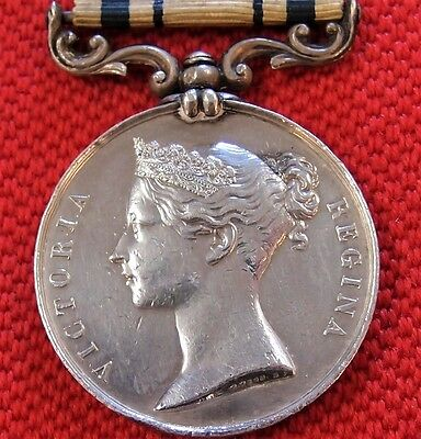 Rare Pre Ww1 British 1854 South Africa Campaign Medal J Woodrow 91St Regt. Foot