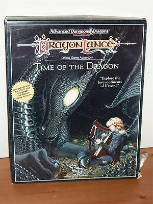 Time of the Dragon - Dragon Lance AD&D 2nd Ed - Boxed - TSR 1050
