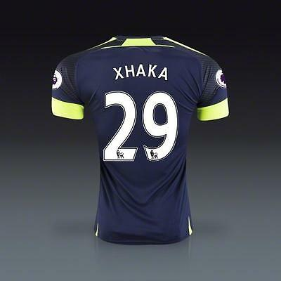 ARSENAL XHAKA Soccer Third Jersey for US size M