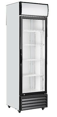 New 198L Commercial Upright Display Fridge