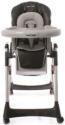 Love N Care Techno Highchair - Black