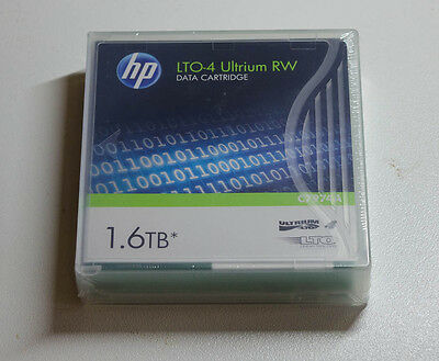 New HP LTO-4 Ultrium 1.6TB RW Data Tape C7974A