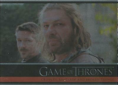 Game of Thrones Season 1 - #11 Base Parallel Foil Card