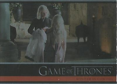 Game of Thrones Season 1 - #03 Base Parallel Foil Card