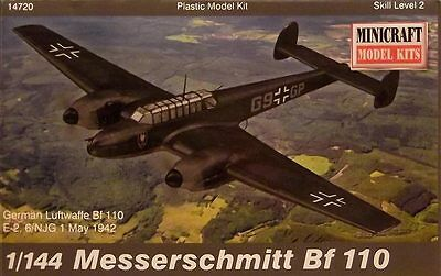 Minicraft 1:144 14720: Bf-110 Messerschmitt