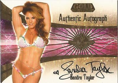 "Benchwarmer 2007 Gold Edition -  #15 of 30 ""Sandra Taylor"" Auto / Autograph Card"