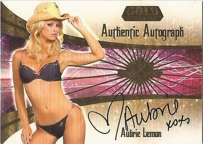 "Benchwarmer 2007 Gold Edition -  #23 of 30 ""Aubrie Lemon"" Auto / Autograph Card"