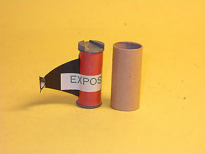 """Exposed"" film for Universal Camera Corp Univex Model A"