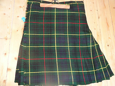 Brand New Gents  Hunting Stewart Tartan Kilt  36 in.