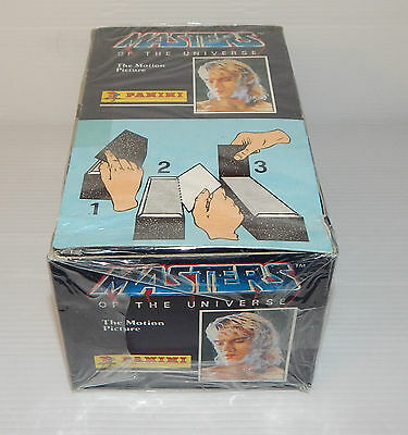 Masters of the Universe Figurine Panini Stickers Vignettes Motion Picture