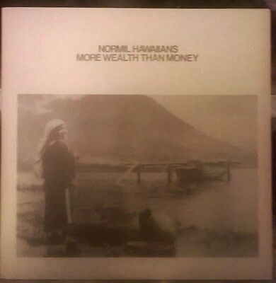 Normil Hawaiians - More wealth than money 2 vinyl NM/NM Illuminated Records lp