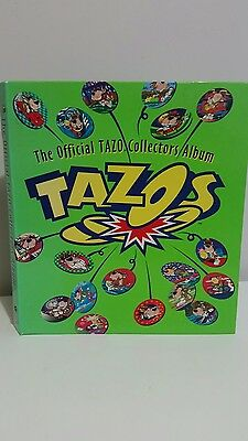 The Official Tazo Collectors Album complete 220 Tazo Simpsons Looney Tunes etc