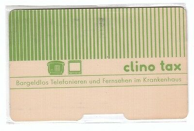 Germany Magnetic Clino Tx Card Phone & TV - ACKERMANN - Used