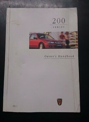 Rover 200 Owners Handbook/Manual and Wallet 96-99