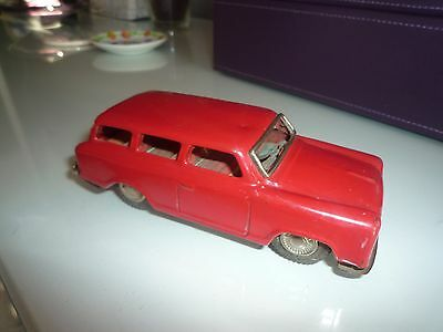 THREE DAY SALE Vintage tin toy car (Russian)
