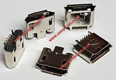 tomtom Parts  *NEW*  :  Start 40,50  / GO 40,50,60 -- MICRO USB SOCKET x 1 Piece