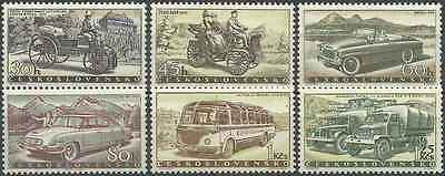 Timbres VEHICULES Tchécoslovaquie 994/9 ** (723)