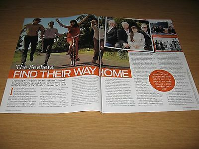 THE SEEKERS - 2 page magazine feature - JUDITH DURHAM