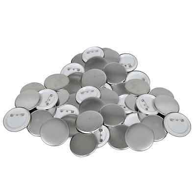 S# 500 Sets 25mm Pin-backed Badge Button Round Supplier for Button Badge Maker