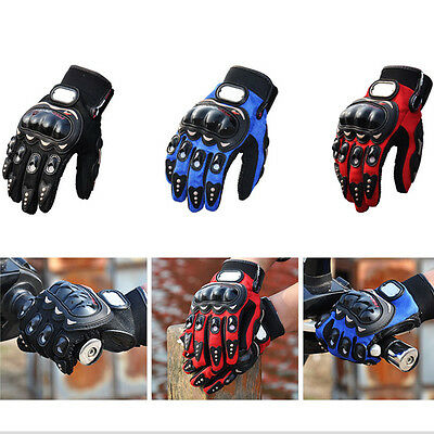 New Carbon Fiber Bike Motorcycle Pro-Biker Motorbike Racing Gloves Full fingers