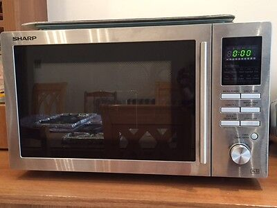 Sharp Combination Microwave Oven R-82Stm-A 25L 900W Freestanding Stainless Steel