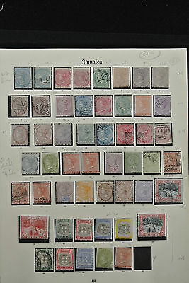 Lot 24882 Collection stamps of Jamaica 1860-1935.