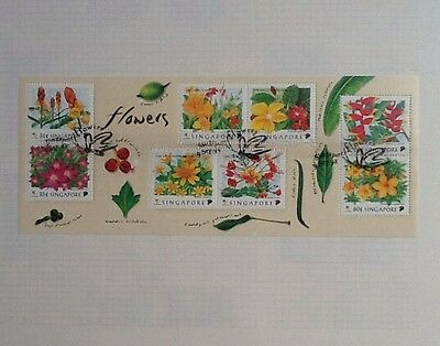 Singapore 1998 Flowers Miniature Sheet