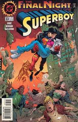 Superboy (1994 series) #33 in Near Mint condition. FREE bag/board