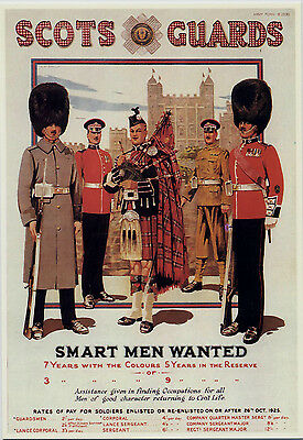 Mayfair Postcards.(770) ~ Scots Guards ~ Recruiting Poster.