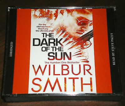 WILBUR SMITH: The Dark Of The Sun - 3xCD 2000 - read by Steve Pacey