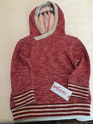 NWT Cat & Jack 2T Hoodie Knit Sweater Toddler Clothes Pullover