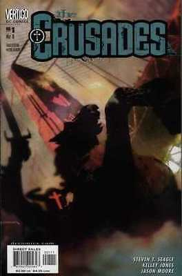 Crusades #1 in Near Mint condition. FREE bag/board
