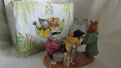 Rare Royal Doulton Wind In The Willows {As Good As New Limited To 1,000] Boxed