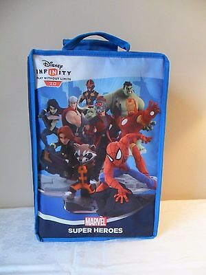 Disney Infinity 2.0 Carry Case With Bundle 12 Figures Plus 2 Crystals  Etc Used