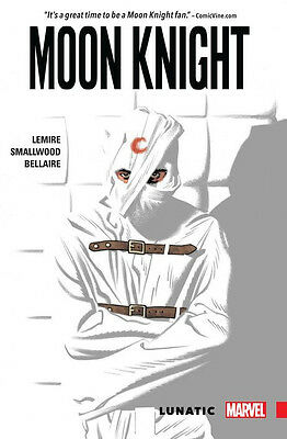 MOON KNIGHT VOLUME 1 LUNATIC GRAPHIC NOVEL New Paperback Collects (2016) #1-5