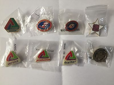 NEW Pizza Hut lot of collectible lapel pins