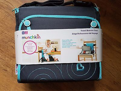 Munchkin Travel Booster Seat Eat With Adults Baby Chair Adapts Any Chair