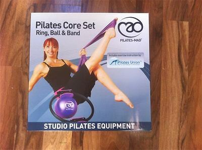 Pilates-Mad Core Set Ring,ball And Band. Rrp £30.00