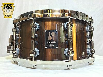 "Sonor Black Chacate One Of A Kind 14"" x 7"" Snare Drum Used - Rare - Only 80 Made"